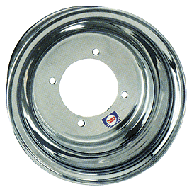 DWT .125 Aluminum Blue Label Front Wheel - 10X5 3B+2N - DWT A5 Rear Wheel - 8X8 Polished