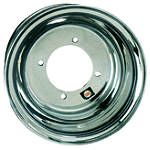 DWT .160 Aluminum Black Label Rear Wheel - 10X8 3B+5N -  ATV Drive