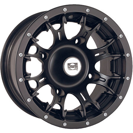 DWT Diablo Front Wheel - 12X7 Black - Main