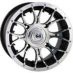 DWT Diablo Front Wheel - 12X7 Machined - Utility ATV Tire and Wheels