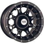 DWT Diablo Front Or Rear Wheel - 12X7 5+2 Black - Utility ATV Rims & Wheels