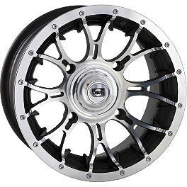 DWT Diablo Front Or Rear Wheel - 12X7 2+5 Machined - 2008 Polaris RANGER 500 2X4 DWT Diablo Front Wheel - 14X6 Chrome