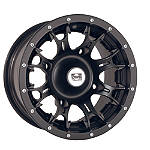 DWT Diablo Front Wheel - 14X6 Black - DWT Utility ATV Products