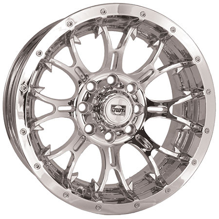 DWT Diablo Front Wheel - 14X6 Chrome - Main