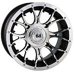 DWT Diablo Front Wheel - 14X6 Machined - Utility ATV Wheels