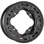 DWT Evo Rear Wheel - 8X8 Black - ATV Products