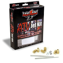 Dynojet Jet Kit - 2004 Yamaha KODIAK 450 4X4 HMF Performance Series Slip-On Exhaust - Brushed