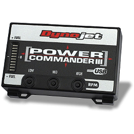 Dynojet Power Commander 3 USB - 2007 Suzuki SV650 ABS Factory Pro Velocity Stacks