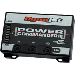 Dynojet Power Commander 3 USB - 2008 Honda VFR800FI - Interceptor ABS Dynojet Power Commander O2 Optimizer