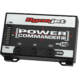 Dynojet Power Commander 3 USB - 2008 Suzuki LT-R450 Dynojet Power Commander 3 USB