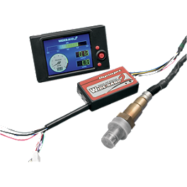 Dynojet Wide Band-2 Commander With Color LCD Display - Dynojet Power Commander 5 Auto Tune Kit - Dual Sensor