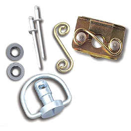 Lockhart Phillips D-Ring Fastener Kits - 2009 Honda CBR600RR Lockhart Phillips Carbon Inlay Slider Button Screws