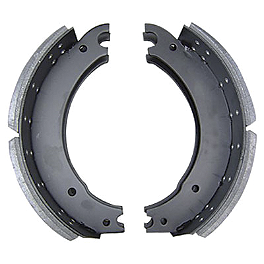 EBC Standard Brake Shoes - Rear - 2010 Yamaha V Star 650 Custom - XVS65 EBC HH Brake Pads - Front