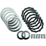 EBC SRK Complete Clutch Rebuild Kit - Kawasaki ZX600 - ZZ-R 600 Motorcycle Engine Parts and Accessories