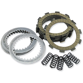 EBC Dirt Racer Clutch Kit - 2005 Honda CR85 Big Wheel EBC Oversize Contour Front Rotor - 250mm