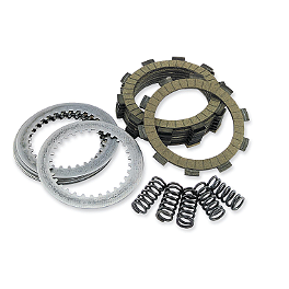 EBC Dirt Racer Clutch Kit - 2004 Honda CRF450R Newcomb Clutch Cover Gasket