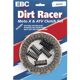 EBC Dirt Racer Clutch Kit - 1998 Yamaha WARRIOR EBC Brake Rotor - Rear