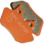 EBC V-Series Brake Pads - Rear - EBC Cruiser Brakes