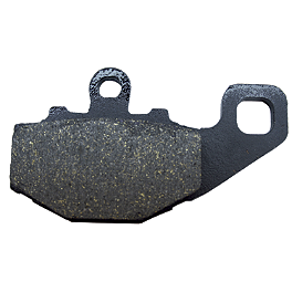 EBC Standard Brake Pads - Rear - 2010 Kawasaki Vulcan 900 Classic - VN900B Vesrah Racing Sintered Metal Brake Pad - Rear