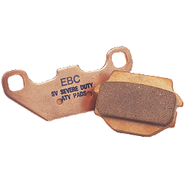 "EBC ""R"" Series Sintered Brake Pads - Rear - 2009 KTM 250XCW EBC SX Contour Brake Rotor - Rear"