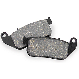 EBC Standard Brake Pads - Front - 2012 Harley Davidson Sportster Forty-Eight - XL1200X EBC V-Series Brake Pads - Rear