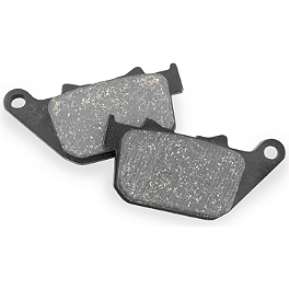 EBC Standard Brake Pads - Rear - 2012 Harley Davidson Sportster Forty-Eight - XL1200X EBC V-Series Brake Pads - Rear