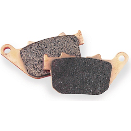 EBC HH Brake Pads - Rear - 2012 Harley Davidson Sportster Forty-Eight - XL1200X EBC V-Series Brake Pads - Rear