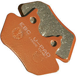 EBC V-Series Brake Pads - Rear - 2008 Harley Davidson Road King - FLHR EBC Standard Brake Pads - Front