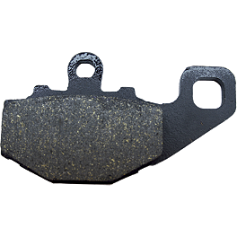 EBC Standard Brake Pads - Rear - 1991 Honda Gold Wing Aspencade 1500 - GL1500A Vesrah Racing Sintered Metal Brake Pad - Rear