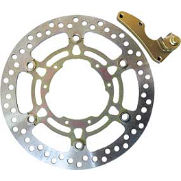 EBC Oversize Contour Front Rotor - 250mm - 1999 Honda CR80 Big Wheel Braking W-FLO Oversized Brake Rotor Kit - Front