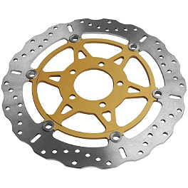 EBC Pro-Lite Contour XC Brake Rotor - Front Right Or Left - 2002 Suzuki SV650 Braking R-FIX Brake Rotor - Rear