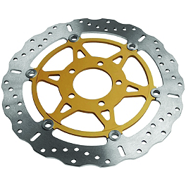 EBC Pro-Lite Contour Brake Rotor - Front Right Or Left - 1996 Kawasaki ZX900 - Ninja ZX-9R EBC HH Brake Pads - Front