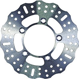 EBC Pro-Lite Contour Brake Rotor - Rear - 2002 Honda VTR1000 - Super Hawk Braking R-FIX Brake Rotor - Rear