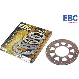 EBC Brake Rotor - Rear - 2008 Honda TRX450R (KICK START) EBC Dirt Racer Clutch Kit