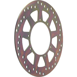 EBC Brake Rotor - Rear - 1990 Honda CR125 EBC Brake Rotor - Rear