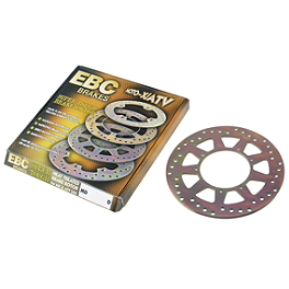 EBC Brake Rotor - Rear - 2007 Suzuki RM125 EBC Dirt Racer Clutch Kit