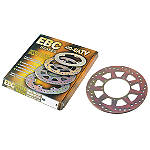 EBC Brake Rotor - Rear - Dirt Bike ATV Parts