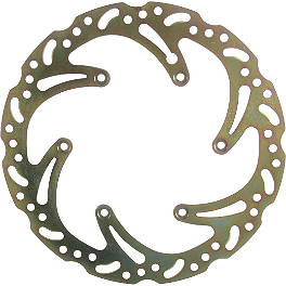 EBC SX Contour Brake Rotor - Rear - 1997 Honda CR80 EBC SX Contour Brake Rotor - Rear