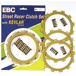 EBC Street Racer Clutch Kit - 1998 Kawasaki Vulcan 500 LTD - EN500C EBC Standard Brake Shoes - Rear