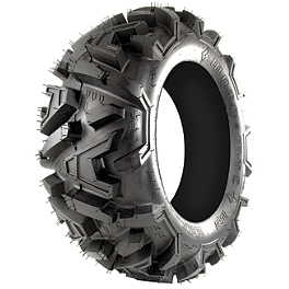 EFX Moto MTC Front Tire - 26x9-14 - 2002 Yamaha GRIZZLY 660 4X4 Artrax CTX Rear ATV Tire - 25x10-12