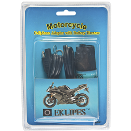 Eklipes 12V Cell Phone/GPS Charger Adapter - BikeMaster Twin Accessory 4-Socket Adapter