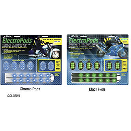 StreetFX Electropods Lighting Kit - Kuryakyn Super Lizard Light Kit - Sportbikes