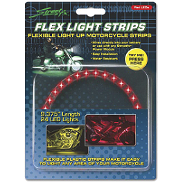 StreetFX Electropod Flex Light Strips - Street FX Hex LED Valve Cap