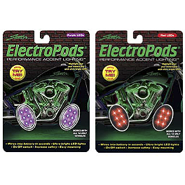 StreetFX Electropods Oval Light Pods - DEI Lighted Button Head Bolts