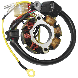 Electrosport Lighting Stator - 2001 Suzuki DRZ400E Trail Tech Voyager GPS Computer Kit - Stealth