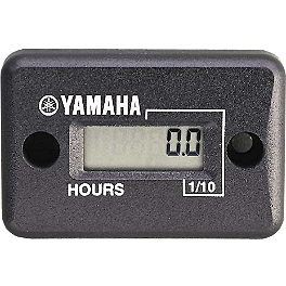 GYTR Standard Hour Meter - GYTR Raised Bubble Windscreen - Tinted