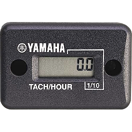 GYTR Deluxe Hour Meter & Tachometer - GYTR Billet Oversized Footpegs - Blue