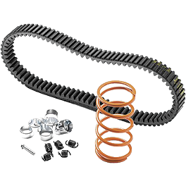 EPI Mudder Clutch Kit With Severe Duty Belt - 2010 Yamaha GRIZZLY 700 4X4 POWER STEERING EPI Utility Clutch Kit - Stock Tires - 3000-6000'
