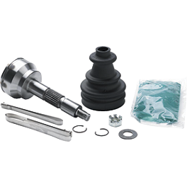 EPI CV Joint Front, Female - 2002 Polaris SCRAMBLER 500 4X4 EPI Tie Rod End Left Thread Outer