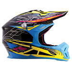 EVS T7 Dimension Helmet -  Motocross Chest and Back Protection